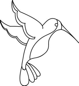 Hummingbird Outline Picture by Free Hummingbird Clipart Image 0515 1102 2016 2207