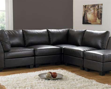 floor sofas black corner sofas for modern and classic living room