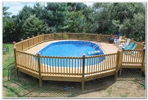 decorating around above ground pool pool deck ideas for above ground pools decks home