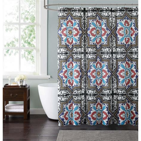 light blue and red curtains taupe blue and red shower curtain croydex light blue