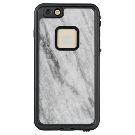 Iphone 6 6s Plus Marble Texture Gray Hardcase white and gray marble texture look lifeproof fr iphone 6 6s plus plus