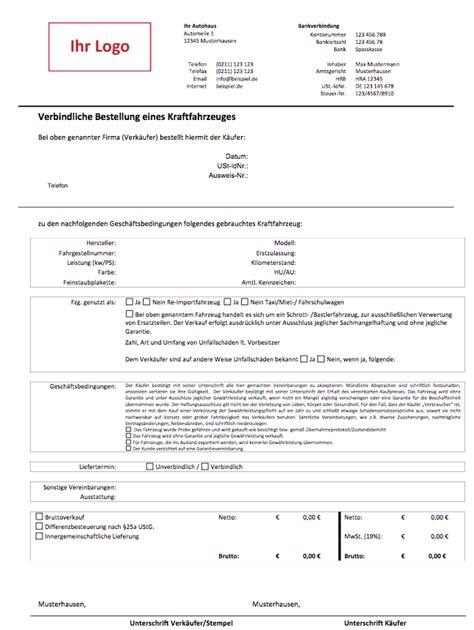 Mobile Kfz Kaufvertrag by Kfz Kaufvertrag Gebrauchtwagenhandel Autofreund24