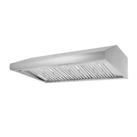 48 under cabinet range hood thor kitchen 48 in under cabinet range hood in stainless