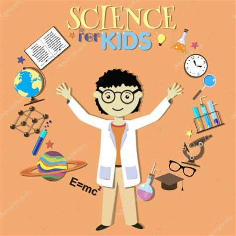 imagenes de simbolos cientificos ciencia para ni 241 os cient 237 fico de dibujos animados
