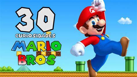Mario Bros 30 30 curiosidades de mario bros