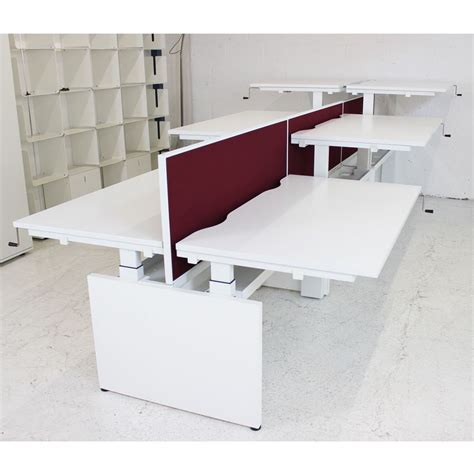 herman miller desks uk herman miller renew link bench desk height adjustable