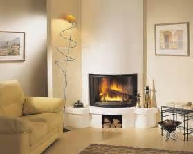 Corner Gas Fireplace Design Ideas   Interior Designs, Architectures and Ideas