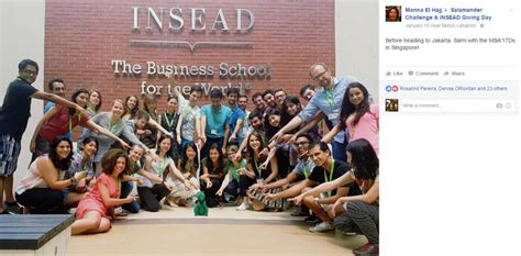 Insead Mba Malaysia by Chioning The Spirit Of Insead Around The World