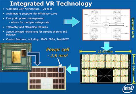 integrated voltage regulator haswell intel haswell to incorporate integrated voltage regulator