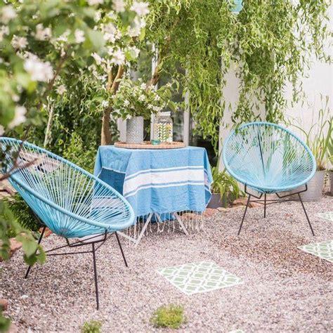Metallstuhl Garten