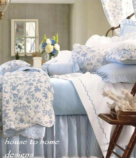 french toile bedding brighton blue full queen quilt set white french toile