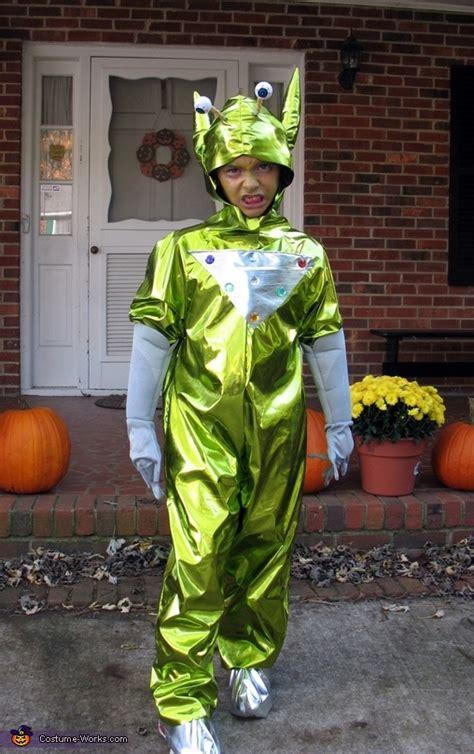 homemade alien costume  boys