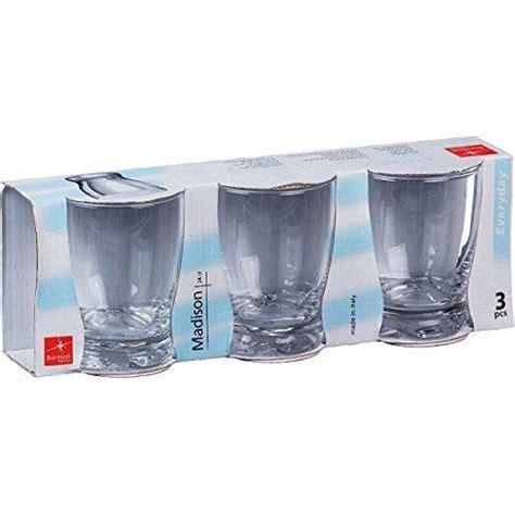 bicchieri da cucina bicchiere acqua cc 240 3 pezzi bormioli bormioli