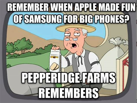 Big Phone Meme - livememe com pepperidge farm remembers