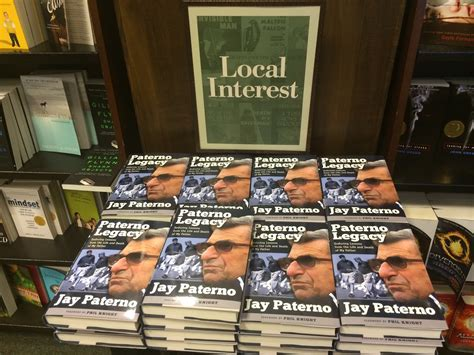 Penn State Barnes And Noble Jay Paterno S New Book Released Early At Barnes Amp Noble
