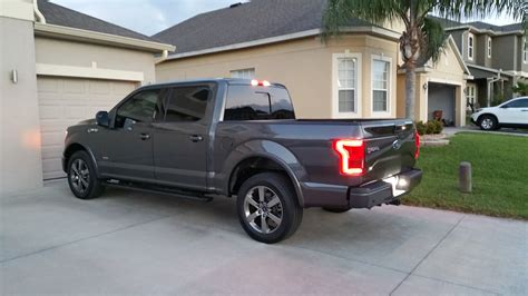 2016 ford f150 tail lights oem led tail lights on my 2016 xlt finally