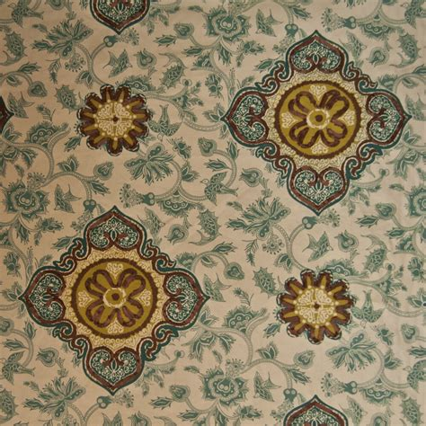 home decor fabric or132 nature suzani floral birds drapery upholstery home