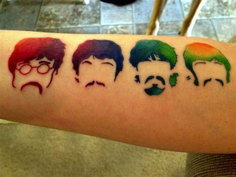 the beatles tattoos amazing beatles tattoos part 1 the beatles