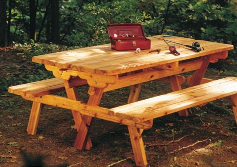 picnic table with separate benches 20 free picnic table plans enjoy outdoor meals with