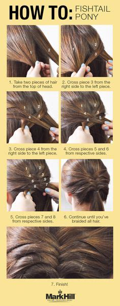 steps for long braids to be put in a bun fishtail fishtail braids and braids on pinterest