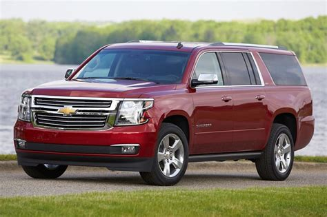 chevrolet suburban red used 2015 chevrolet suburban for sale pricing features