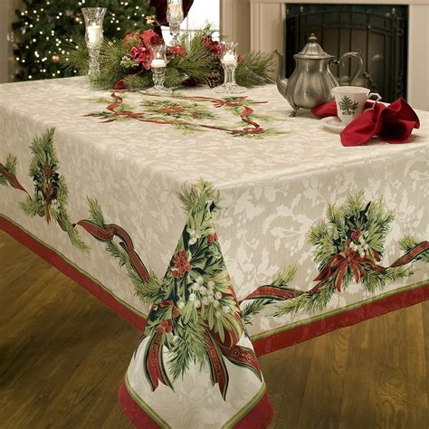 vintage christmas tablecloth antique vintage gallery