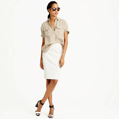 no 2 pencil skirt in bi stretch cotton s skirts