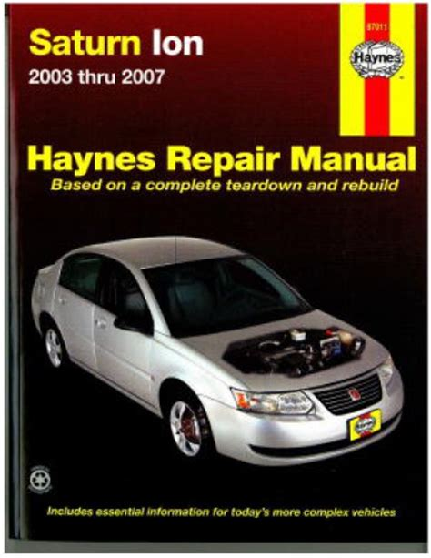 buy car manuals 2004 saturn ion free book repair manuals saturn ion 2003 2007 haynes repair manual