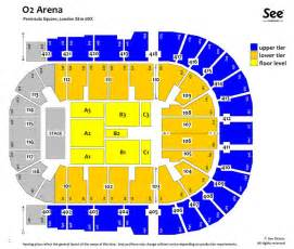 Floor Plan Of O2 Arena by News And Entertainment O2 Arena Seating Jan 04 2013 15