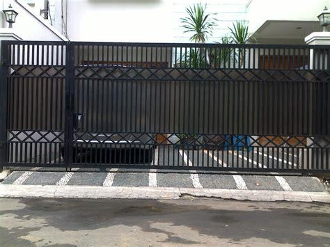desain gambar pagar contoh model desain pagar rumah minimalis modern
