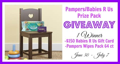 Babies R Us Gift Card Check - 150 babies r us gift card pers wipes 64 pack giveaway who said nothing in life
