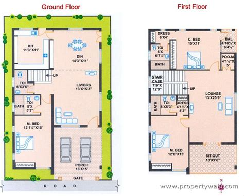 vastu south facing house plan 30x50 facing house plans studio design gallery