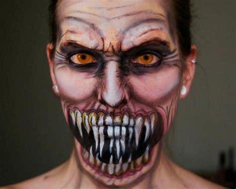 imagenes terrorificas y macabras maquillaje extremo mira estas fotos terrorificas