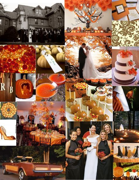 57 best Fall/ Halloween Wedding images on Pinterest
