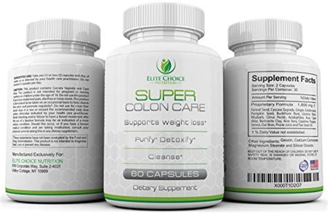 Herbal Slim Detox And Colon Care by Detox And Colon Care Supplement Cleanse Lose Weight