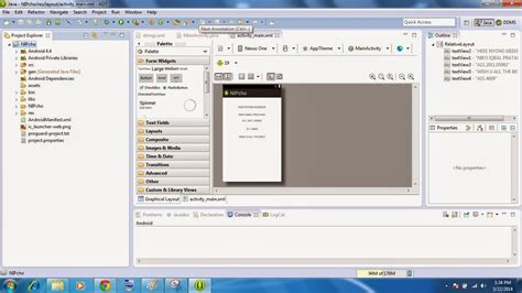 tutorial android threads tutorial pemrograman android eclipse part 1 pegenalan