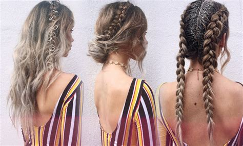 pictures of hairstyles for hair 3 festival hairstyles