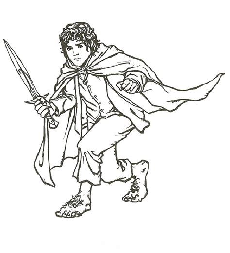 lord of the rings coloring book free printable lord of the rings coloring pages for