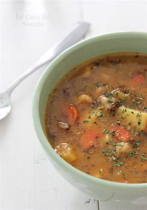 winter vegetable soup recipe dishmaps