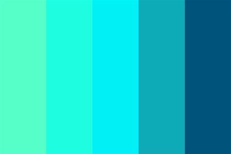 cold colors it is cold color palette