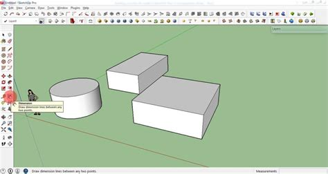 sketchup layout measurements learn to use sketchup 3d modeling software in 17 easy