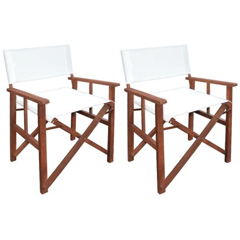 vidaxl co uk vidaxl folding director s chair bamboo and vidaxl director s chair 2 pcs acacia wood vidaxl co uk