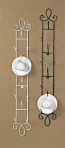 tea cup rack vertical display wall teacup rack antique