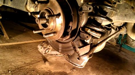 rear bearing replacement    ford explorer youtube