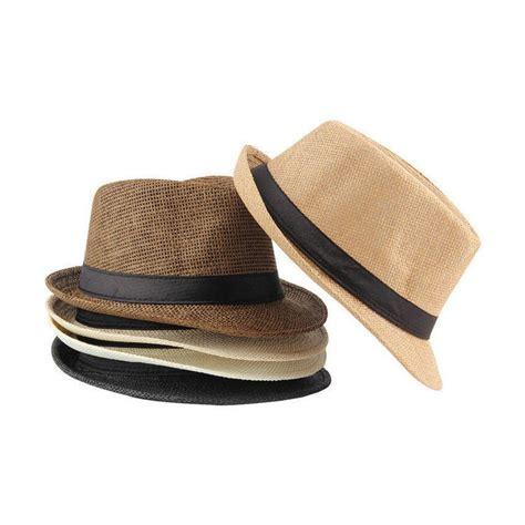 Topi Fedora Wanita jual topi fedora jerami polos dewasa kualitas import impor