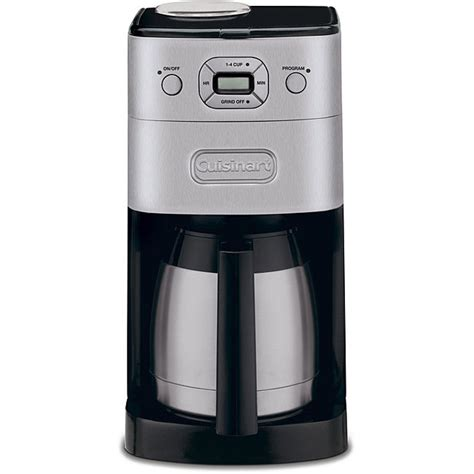 Cuisinart Brushed Metal Grind and Brew 10 cup Automatic Coffee Maker 86279024190   eBay