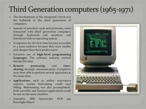 which generation of computer made use of integrated circuit fourth generation computers integrated circuits 28 images computer s evolution generations