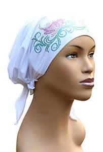 pre chemo celeste pre tied headscarf for chemo patients 168 white