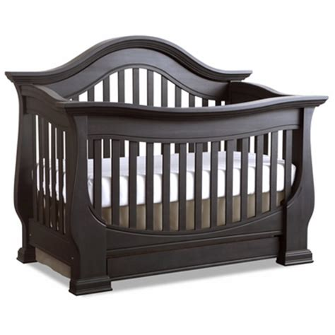 Davenport Convertible Crib Baby Appleseed Davenport 3 In 1 Convertible Crib In Slate Free Shipping