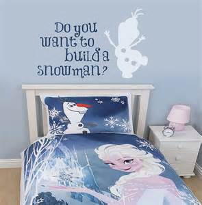Frozen Room Decor Frozen Wall Decal Build A Snowman By Wildgreenrose Etsy Frozen Bedroom Decor Inspired By